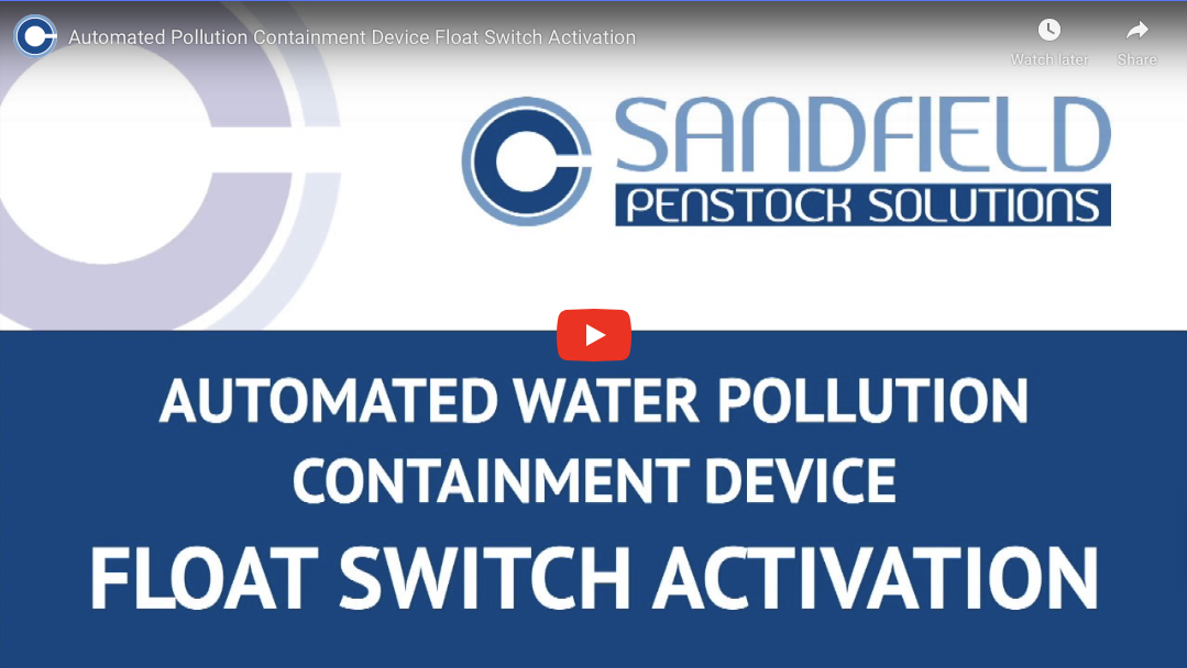 Automated Containment Valve – Float Switch Activation